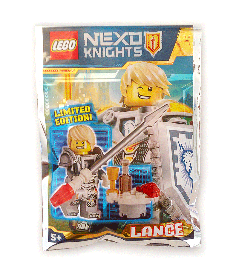 Photo 2 - Magazine N°1, LEGO Nexo Knights - Le Polybag de Lance
