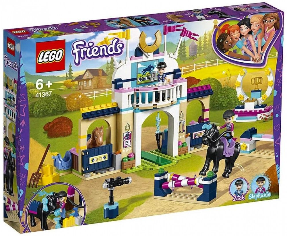 Nouveau LEGO Friends 41367 Stephanie's Obstacle Course 2019