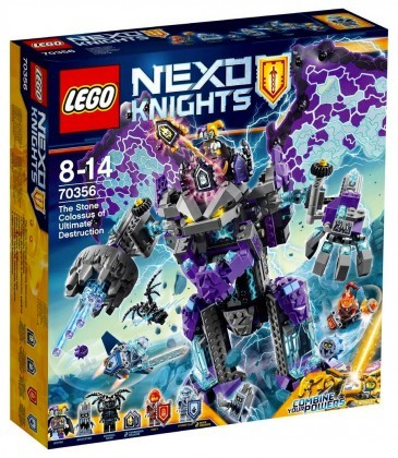 Nouveau LEGO Nexo Knights 70356 Le colosse de pierre de la destruction Juin 2017