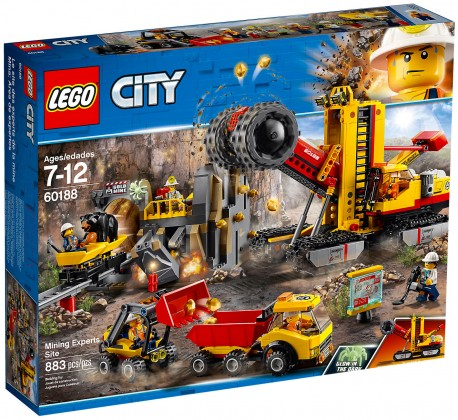 Nouveau LEGO City 60188 Le site d'exploration minier 2018