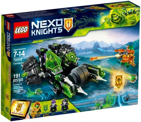 Nouveau LEGO Nexo Knights 72002 Twinfector 2018