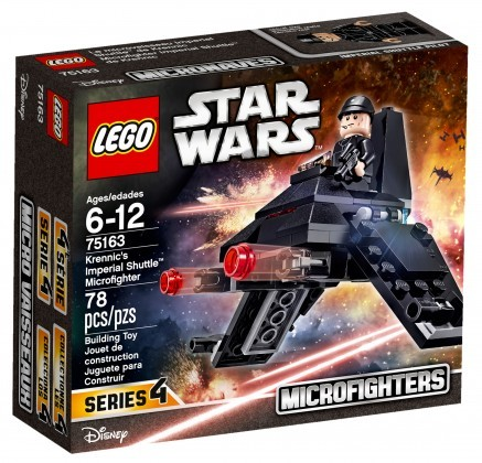 Nouveau LEGO Star Wars 75163 Krennic's Imperial Shuttle Microfighter