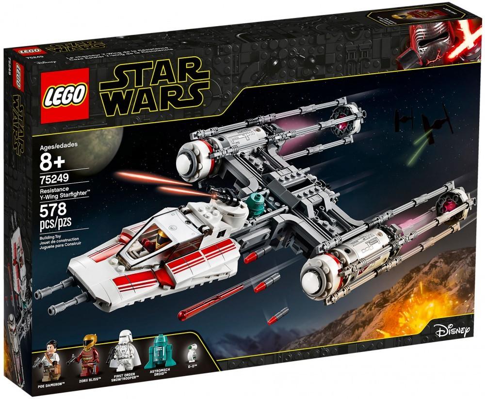 Nouveau LEGO Star Wars 75249 Y-Wing Starfighter de la Résistance
