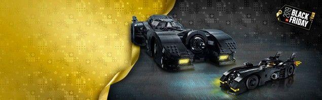 La mini Batmobile offerte pour l'achat de la Batmobile XXL