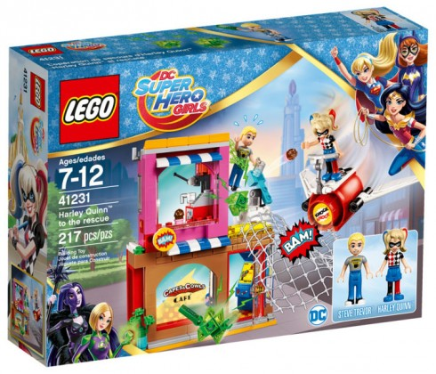 LEGO DC Super Hero Girls 41231 Harley Quinn to Cage Rescue