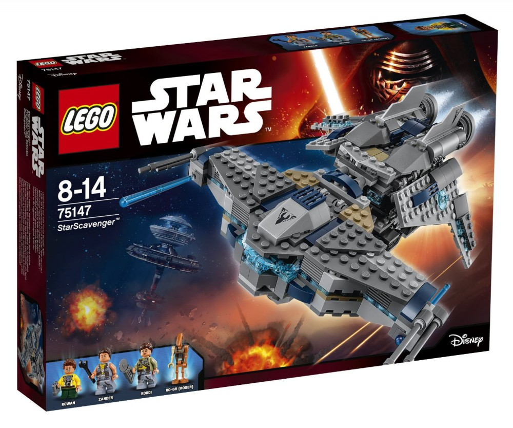 LEGO Star Wars Star Scavenger - 75147 - Photo 1