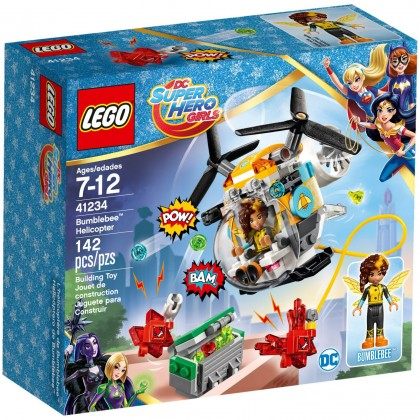 Nouveau LEGO DC Super Hero Girls 41234 Bumblebee Helicopter 2017