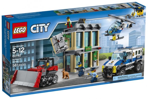 LEGO City 60140 Bulldozer Break In