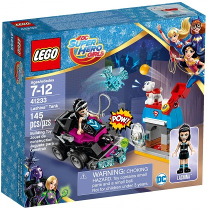 Nouveau LEGO DC Super Hero Girls 41233 Lashina Tank 2017