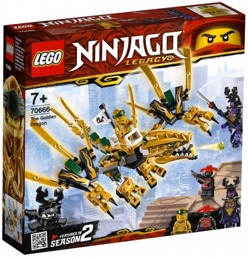 Nouveau LEGO Ninjago 70666 The Golden Dragon 2019