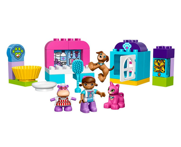 LEGO Duplo Doc McStuffins' Pet Vet Care - 10828 - Photo 2