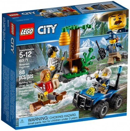 Nouveau LEGO City 60171 Mountain Fugitives 2018