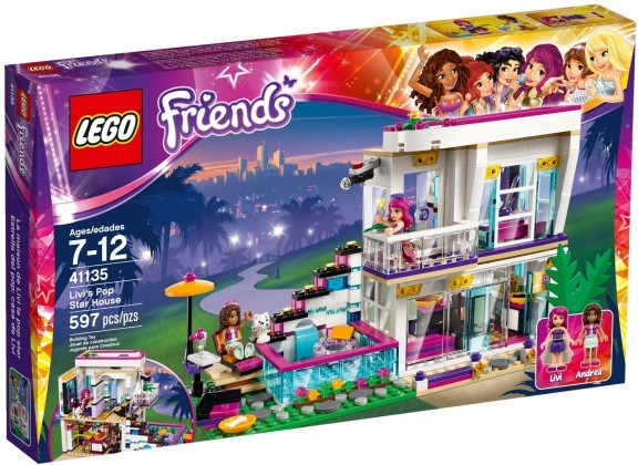 LEGO Friends 41135 - La maison de la Pop Star Livi