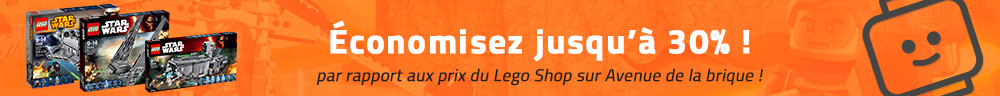 Bons plans et promotions LEGO Star Wars