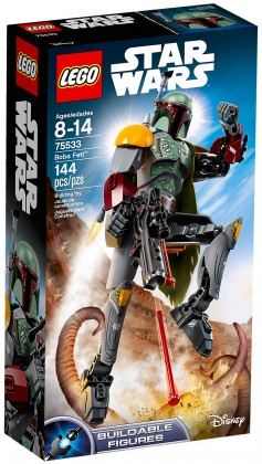 Nouveau LEGO Star Wars 75533 Boba Fett (Buildable Figures) 2018
