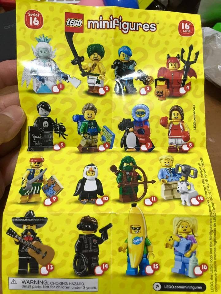photo LEGO Minifigures 71013