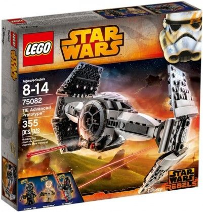 LEGO Star Wars 75082 - Prototype TIE Top Secret