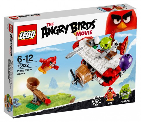 Lego Angry Birds L'attaque en avion du cochon