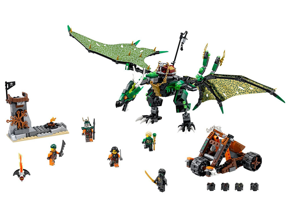 LEGO Ninjago 70593 - The Green NRG Dragon - Photo 3