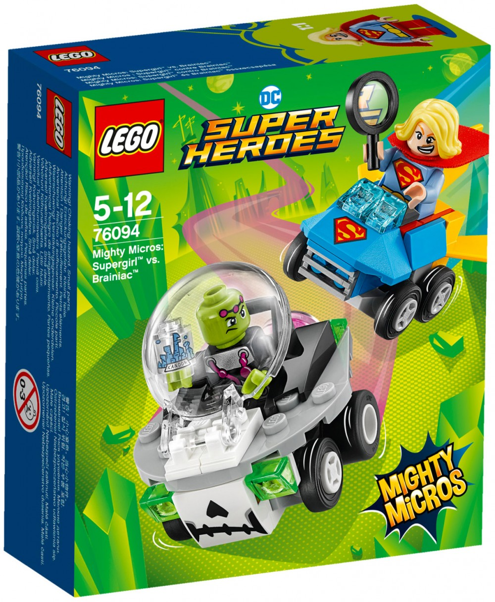 Nouveau LEGO DC Comics 76094 Supergirl vs Brainac 2018