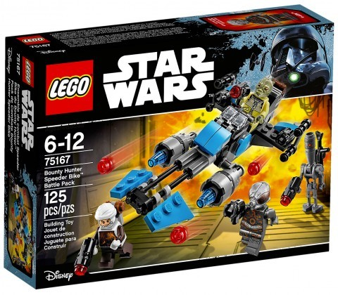 Nouveau LEGO Star Wars 75167 Pack de combat la moto speeder du Bounty Hunter Juin 2017