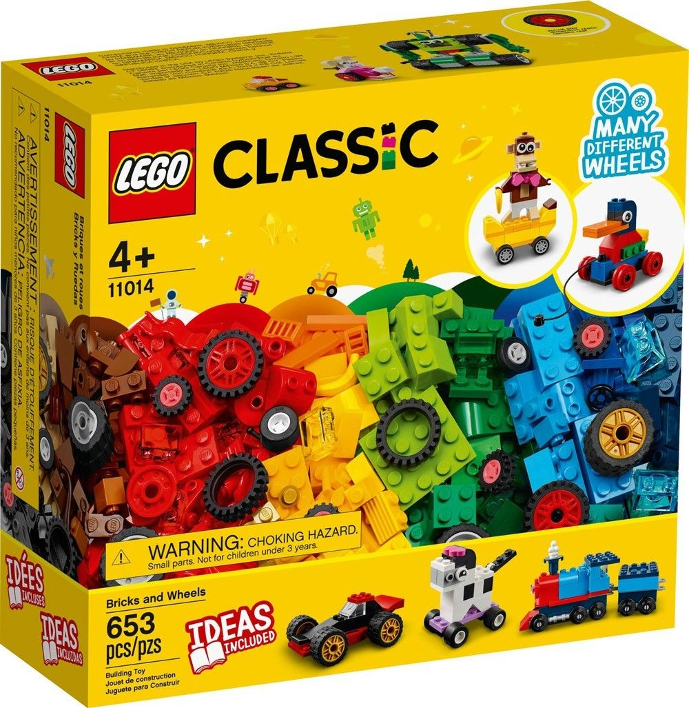 LEGO Classic 11014 brick and wheels // mars 2021