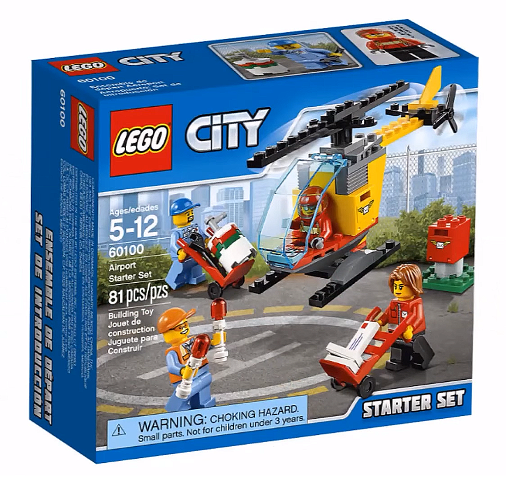 LEGO City Airport Starter Set - 60100 - Photo 1