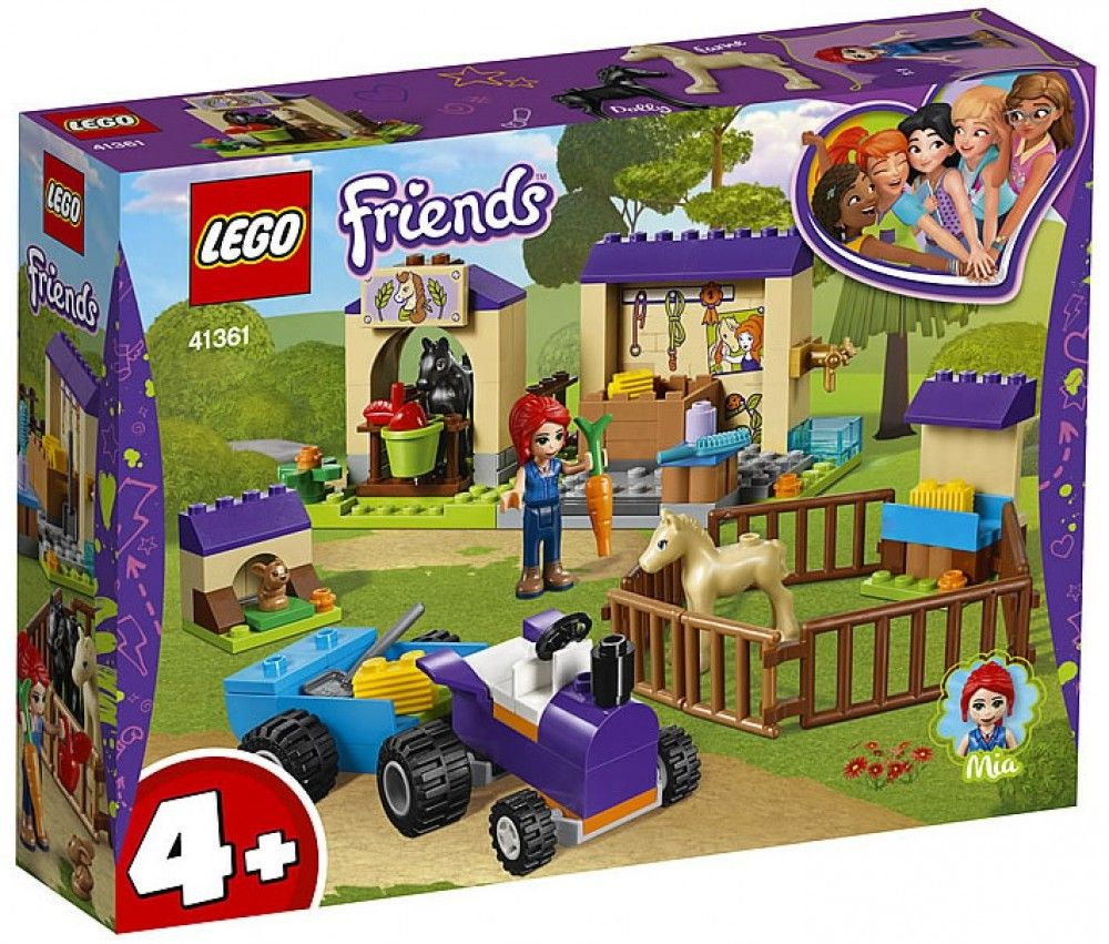 Nouveau LEGO Friends 41361 Mia's Foal Stable 2019