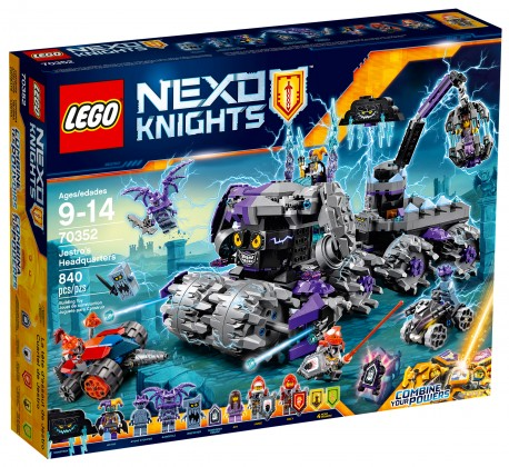 Nouveau LEGO Nexo Knights 70352 Jestro's Headquarters