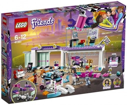 Nouveau LEGO Friends 41351 Creative Tuning Shop 2018