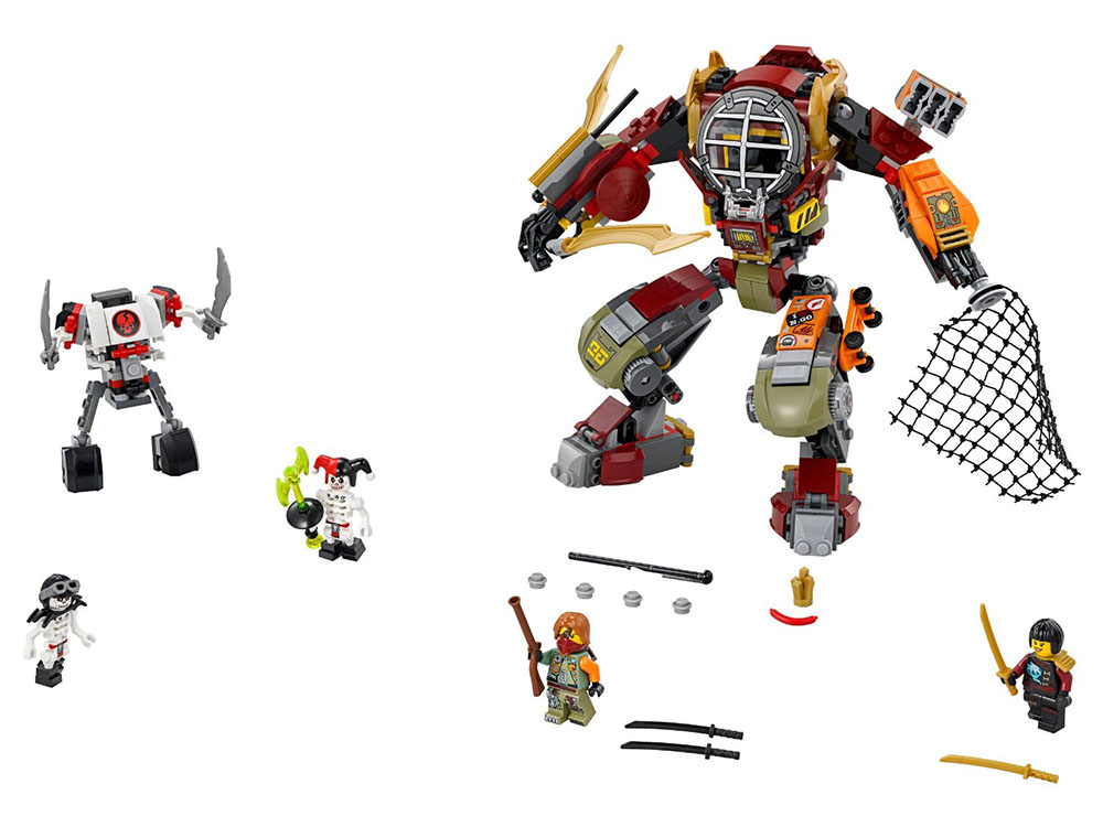 LEGO Ninjago 70592 - Salvage M.E.C. - Photo 3