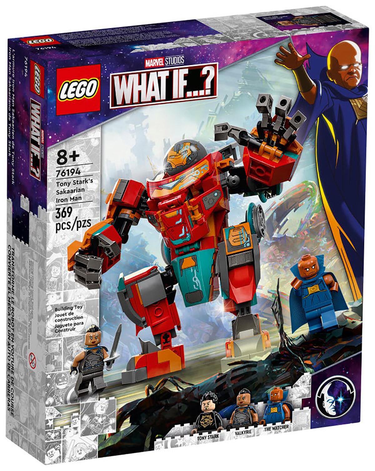 LEGO Marvel 76194 L'armure sakaarienne d'Iron Man de Tony Stark // Août 2021