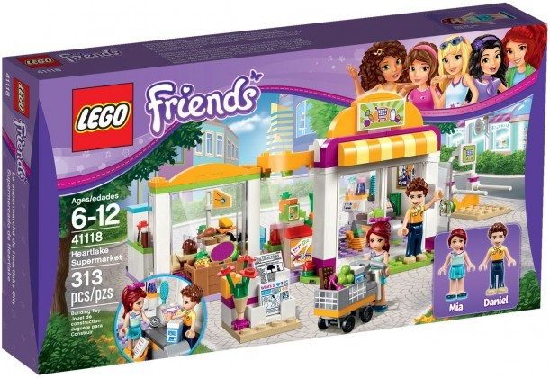 LEGO Friends 41118 - Le supermarché d'Heartlake City