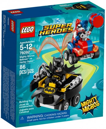 Nouveau LEGO DC Comics 76092 Mighty Micros : Batman contre Harley Quinn 2018