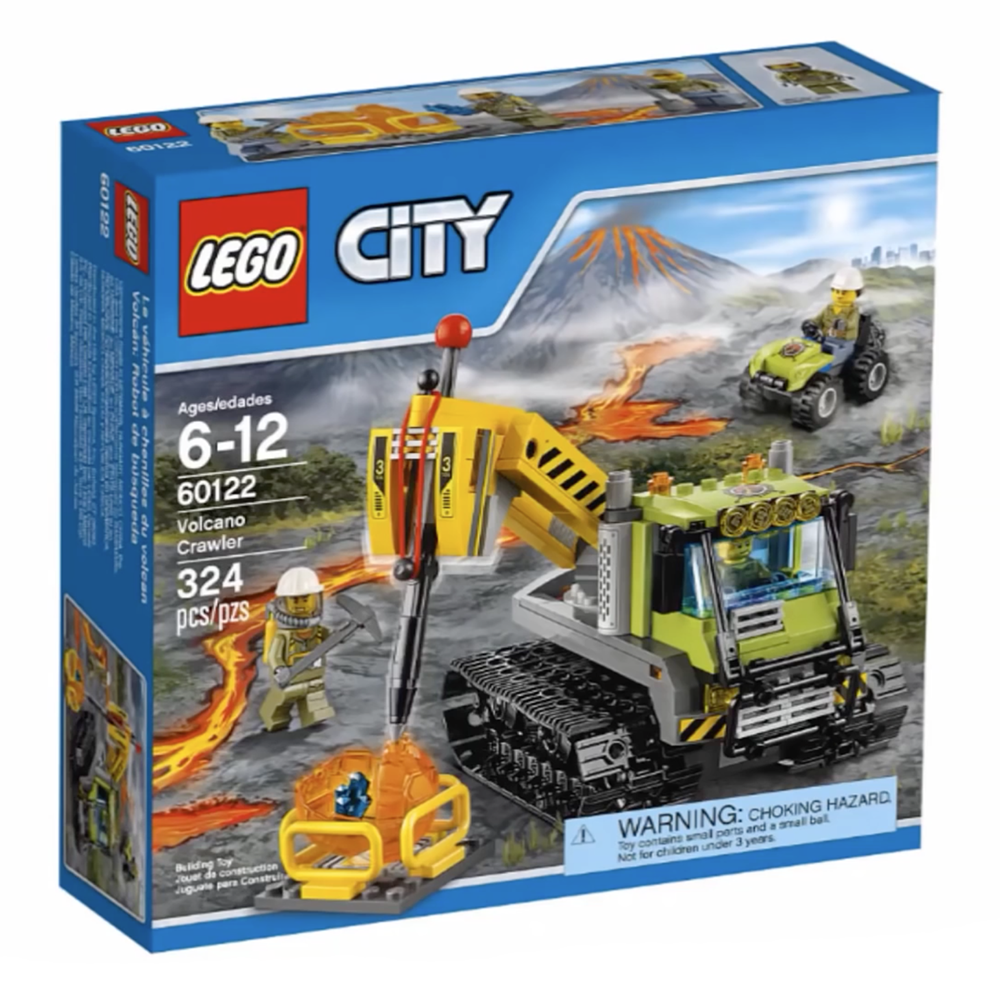 LEGO City Volcano Crawler - 60122 - Photo 1