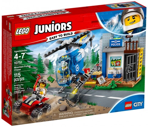 Nouveau LEGO Juniors 10751 La course poursuite à la montagne (City) 2018