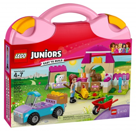 Nouveau LEGO Juniors 10746 Mia's Farm Suitcase 2017