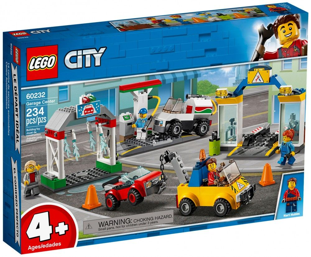 Nouveau LEGO City 60232 Le garage central - Juin 2019