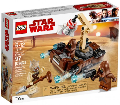 Nouveau LEGO Star Wars 75198 Battle Pack Tatooine 2018