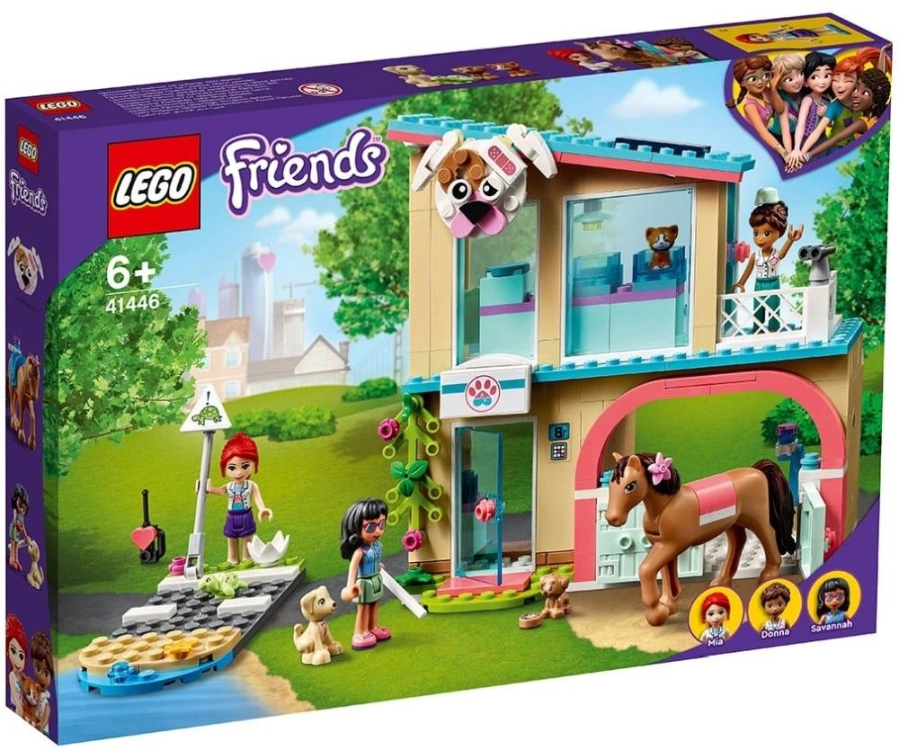 Nouveau LEGO Friends 41446 Heartlake City Vet Clinic // Mars 2021