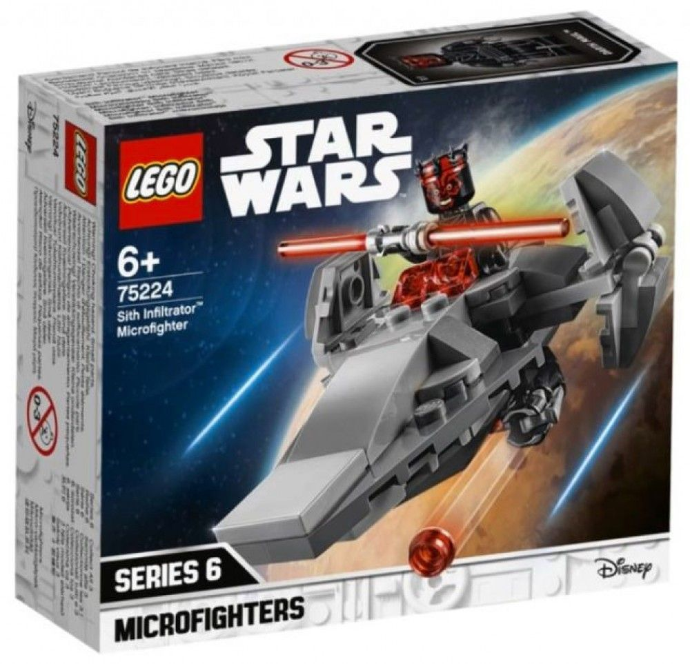 Nouveau LEGO Star Wars 75224 Sith Infiltrator Microfighter 2019