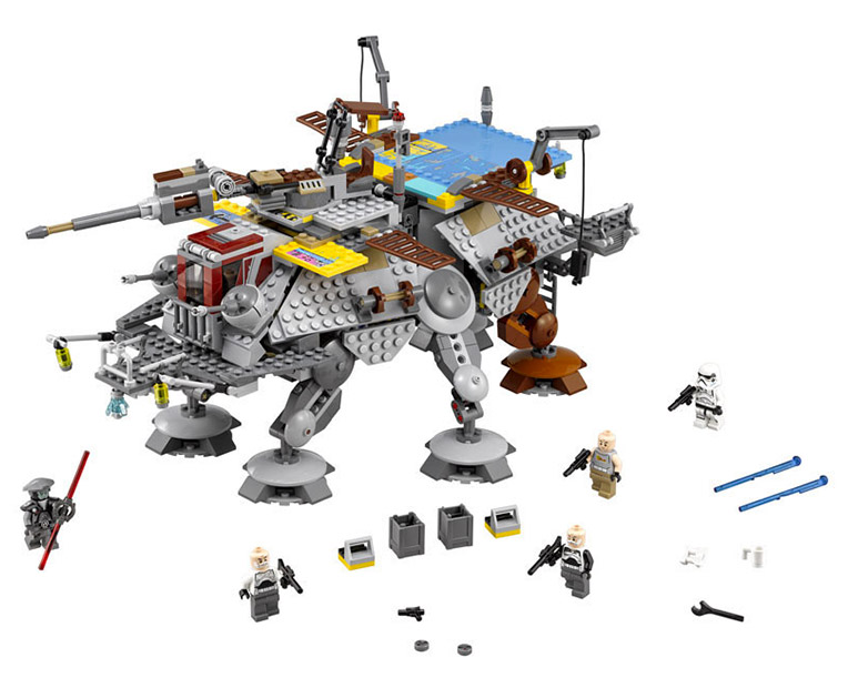 LEGO Star Wars 75157 - Captain Rex's AT-TE - photo 2