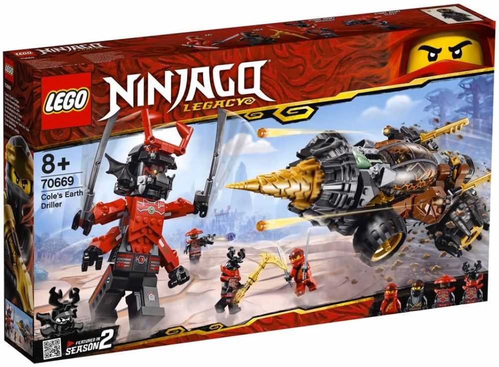Nouveau LEGO Ninjago 70669 Cole's Earth Driller 2019