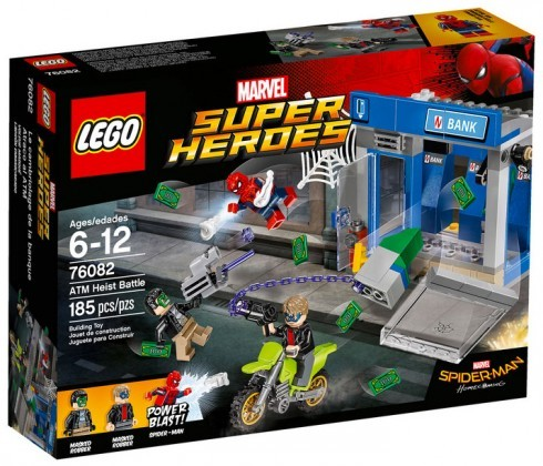 LEGO Marvel 76082 Le braquage de banque (Spiderman Homecoming) Juin 2017
