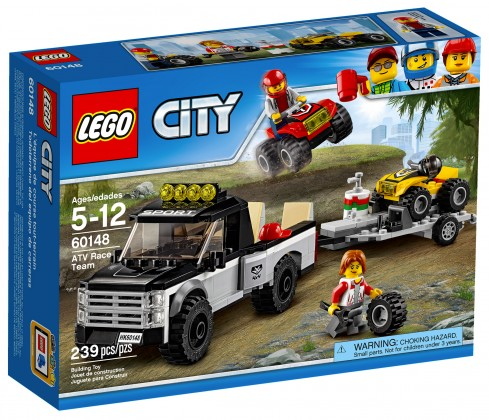 Nouveau LEGO City 60148 ATV Race Team 2017