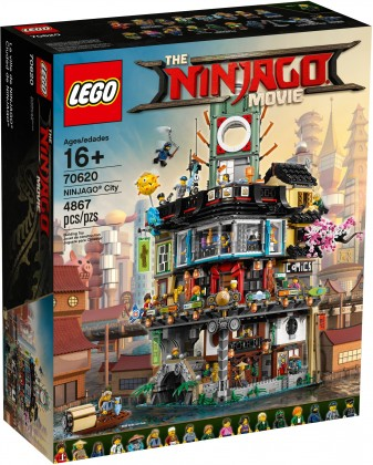 LEGO The Ninjago Movie 70620 La Ville Ninjago