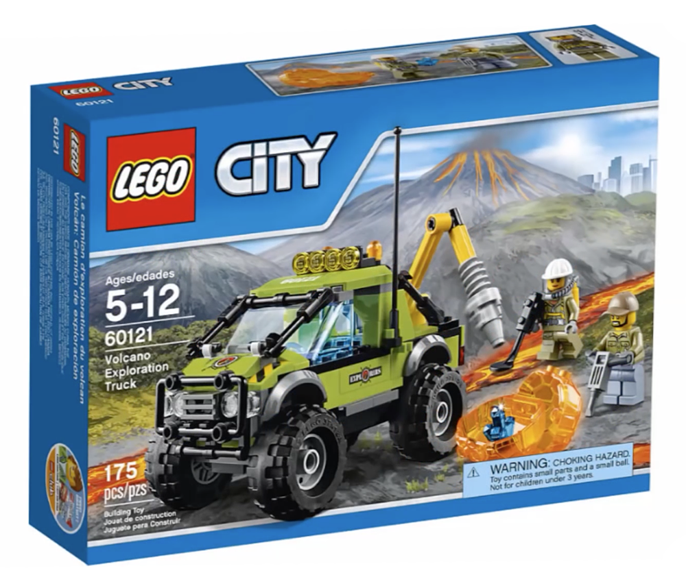 LEGO City Volcano Exploration Truck - 60121 - Photo 1