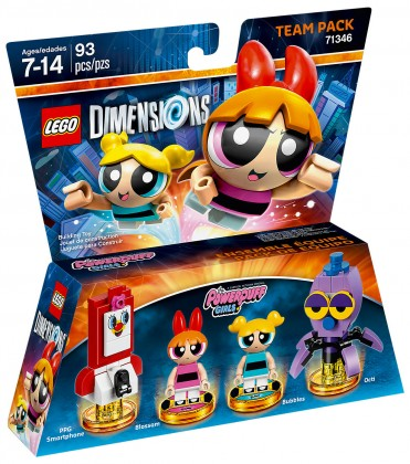 LEGO Dimensions 71346 Pack Equipe Les Supers Nanas