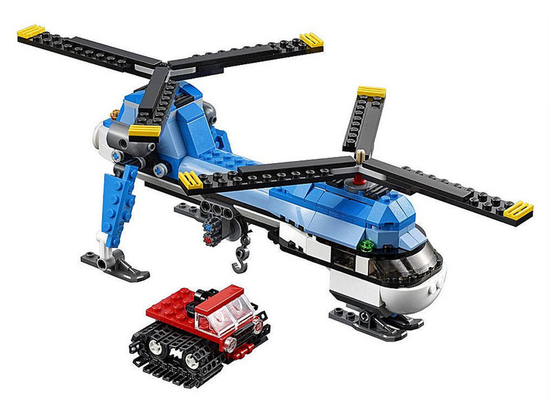 LEGO City Dual Rotor Helicopter - 31049 - Photo 2