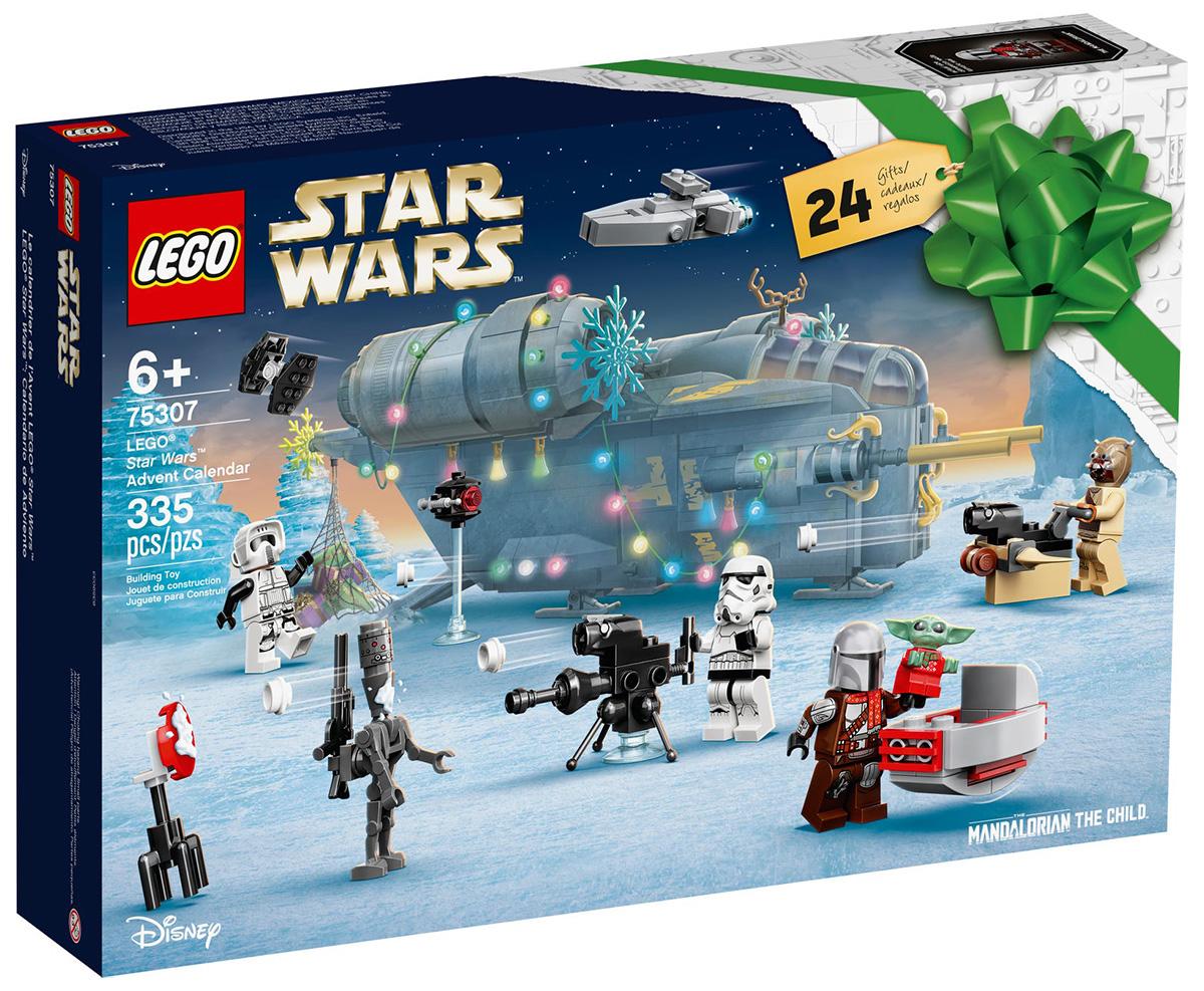 LEGO 75307 Le calendrier de l'Avent LEGO Star Wars 2021 // Septembre 2021